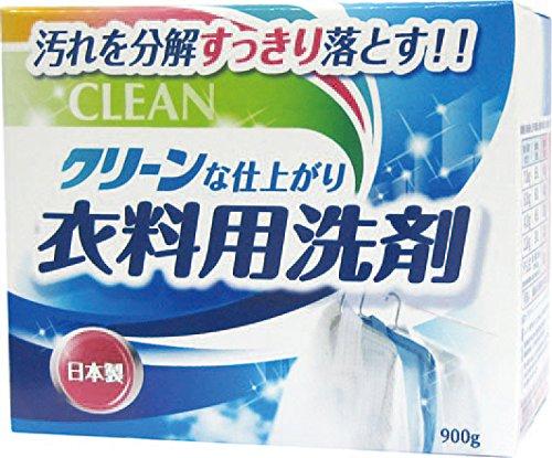 【送料無料】衣料用洗剤 900g 〔まとめ買い80個セット〕