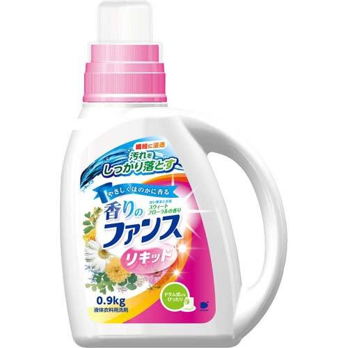 【送料無料】香りのファンス リキッド 衣料用 液体洗剤 本体 900g 〔まとめ買い90個セット〕