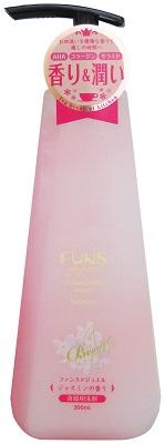 【送料無料】FUNS de jewel ファンスドジュエル ジャスミンの香り 300ml 〔まとめ買い120個セット〕