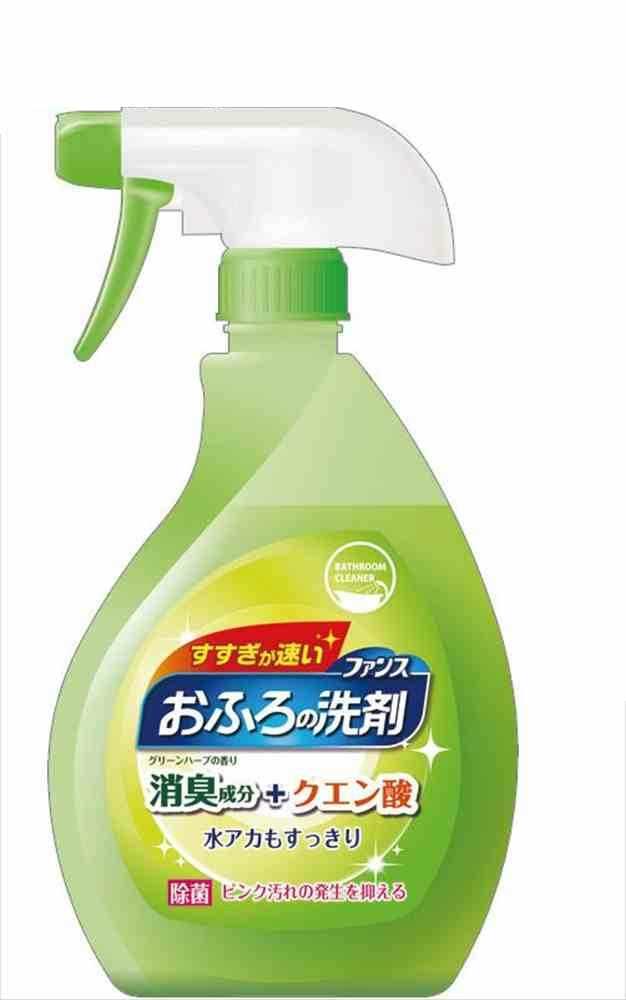 【送料無料】ファンスおふろの洗剤グリーンハーブ本体380ml 46-239 〔まとめ買い120個セット〕