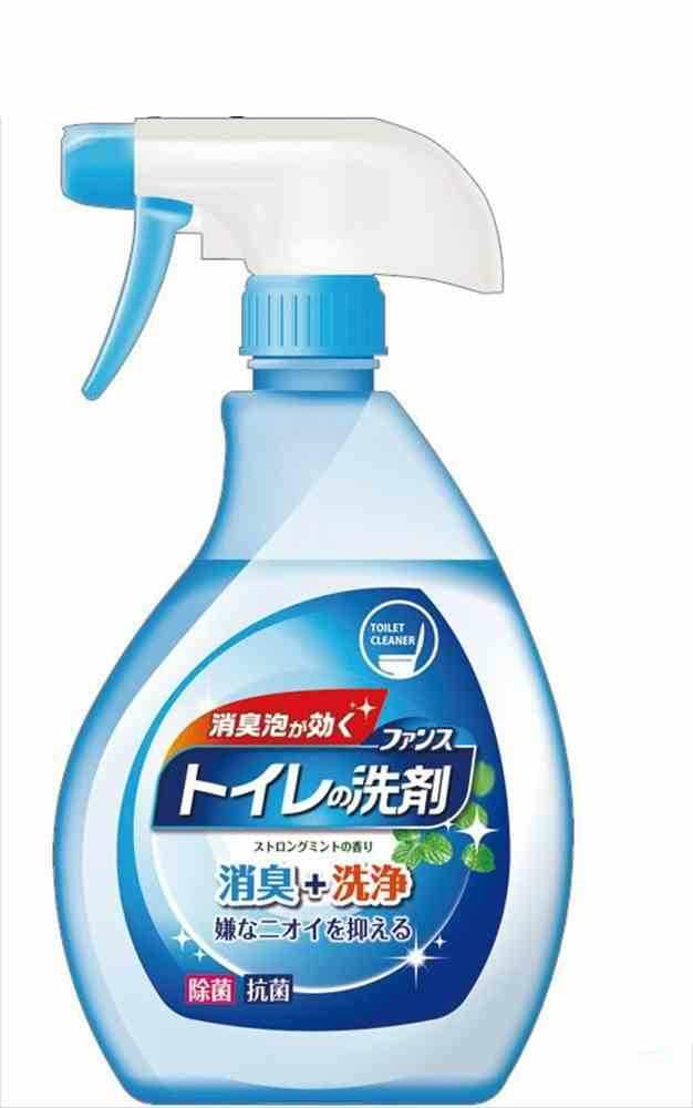 【送料無料】ファンストイレの洗剤除菌・消臭本体380ml 46-241 〔まとめ買い120個セット〕