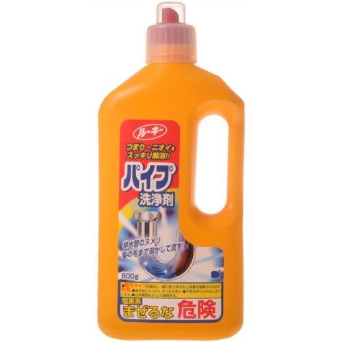 【送料無料】ルーキー パイプ洗浄剤 800g 〔まとめ買い120個セット〕