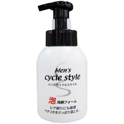 【送料無料】サイクルスタイル メンズ 泡洗顔フォーム 本体 250ml 〔まとめ買い120個セット〕