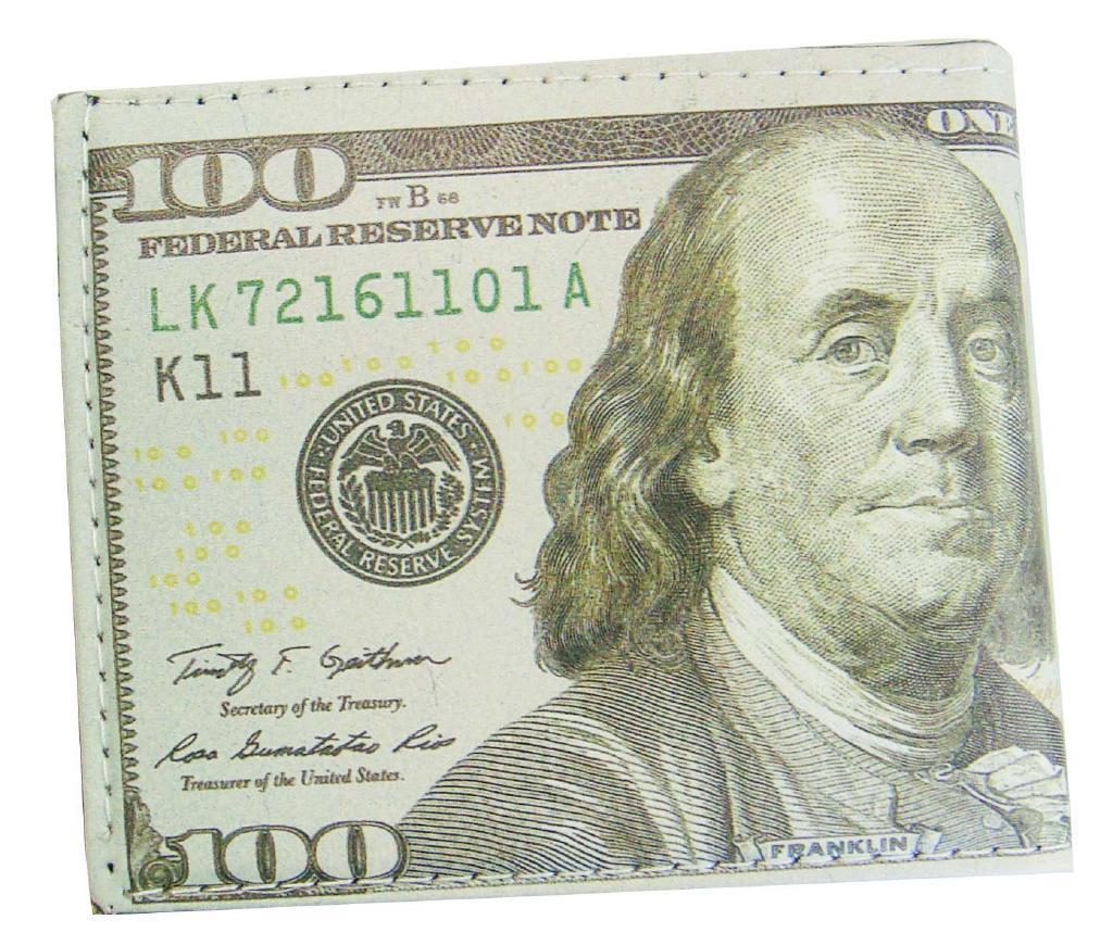 【送料無料】[D]ドル札柄財布 22017 〔まとめ買い360個セット〕【代引不可】