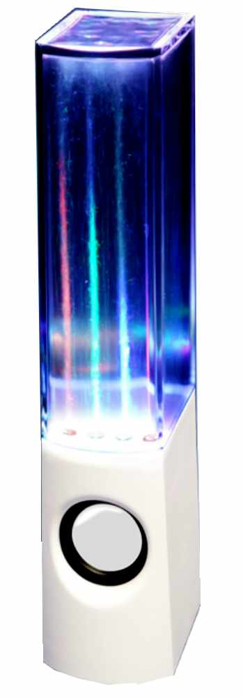【送料無料】リズムや音量に合わせて水と光が跳ねる!! 4色LED ハイドロスピーカー HAC1616 〔まとめ買い24個セット〕【代引不可】