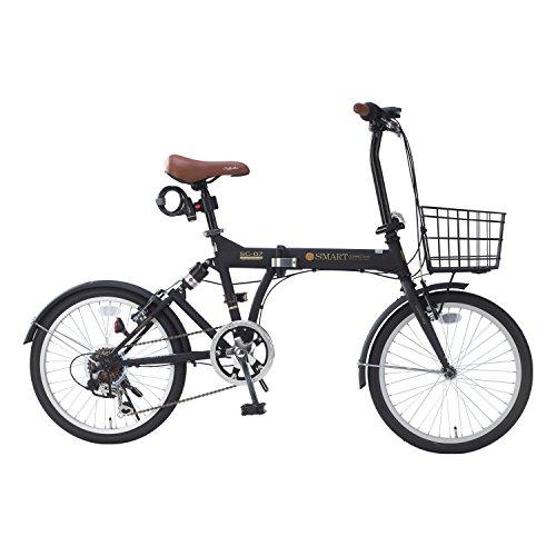 【送料無料】My Pallas(マイパラス) 折畳自転車 マットブラック 折畳自転車 20インチ 6段ギア オールインワン カラー 20インチ/マットブラック SC-07PLUS SC-07PLUS マットブラック 20インチ【代引不可】, ハーブティー&アロマ専門店ユーン:b9446a5d --- mail.msis.co