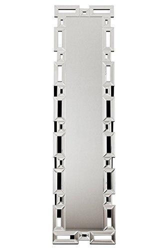 【送料無料】クロシオ スタンディングミラー 角 幅38cm 高さ150cm スタンドミラー 豪華 ラグジュアリー 全身鏡 全身ミラー 姿見 081001【代引不可】