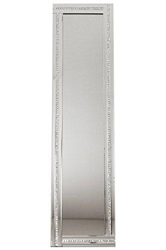 【送料無料】クロシオ スタンディングミラー 1ライン 幅38cm 高さ150cm スタンドミラー 豪華 ラグジュアリー 全身鏡 全身ミラー 姿見 081008【代引不可】