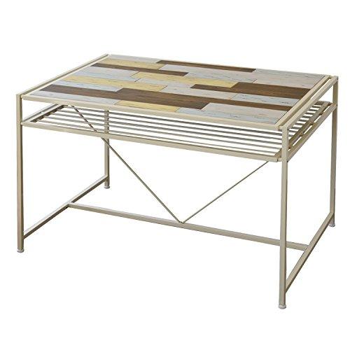 【送料無料】BBファニシング ダイニングテーブル CHROME 幅120×奥行77.1×高さ75cm CHDT-120 CHDT-120【代引不可】