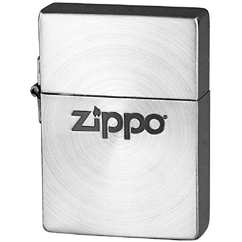 【送料無料】ZIPPO(ジッポ) オイルライター 1935レプリカ スピン zippoロゴ ブラックニッケル 1935SBNSP-ZL