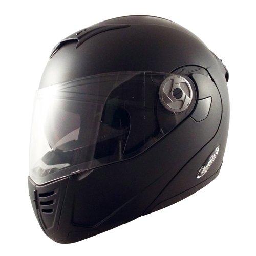 TNK工業 スピードピット インナーシールド内蔵システムヘルメット PT-2 ハーフマッドブラック Lサイズ 51208.0【代引不可】【北海道・沖縄・離島配送不可】