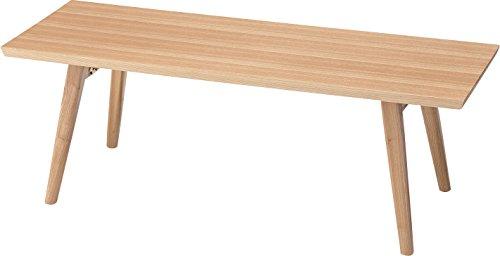【送料無料】AZUMAYA 折れ脚スクエアテーブル HOT-544NA【代引不可】