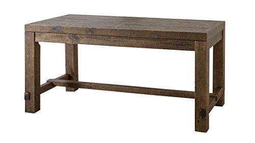 【送料無料】AZUMAYA ダイニングテーブル キャラバン 幅150cm ブラウン WE-311TBR【代引不可】