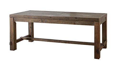 【送料無料】AZUMAYA ダイニングテーブル キャラバン 幅180cm ブラウン WE-312TBR【代引不可】