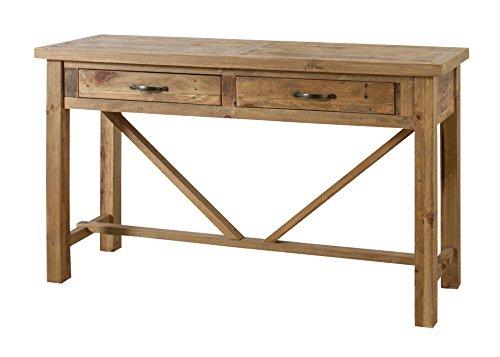 【送料無料】AZUMAYA コンソールテーブル キャラバン 幅140cm WE-315【代引不可】