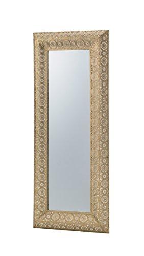 【送料無料】AZUMAYA ウォールミラー 壁掛け 幅48.5cm ゴールド TSM-202GD【代引不可】