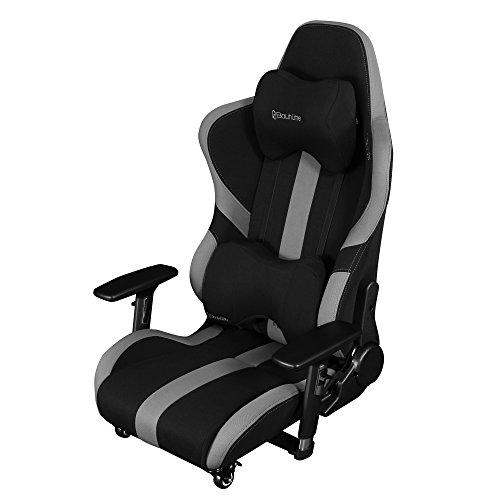 【送料無料】Bauhutte (バウヒュッテ) ゲーミングチェア プロシリーズ ゲーミング座椅子 リクライニング 4D稼働アームレスト採用 LOC-950RR-BK【代引不可】