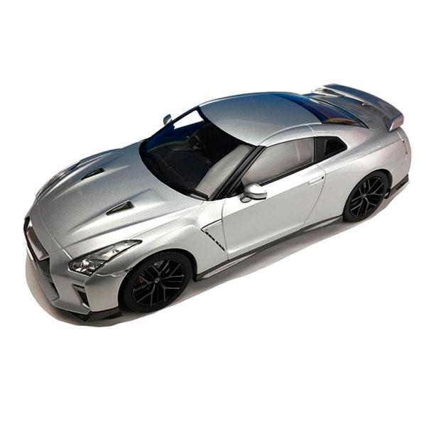 First18/ファースト18 日産 GT-R 2017 アルティメイトメタルシルバー 1/18スケール F18021【代引不可】【北海道・沖縄・離島配送不可】
