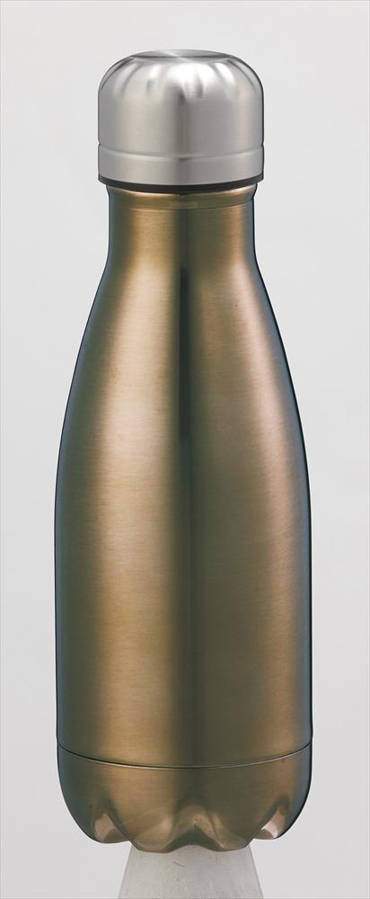 【送料無料】メタリック真空ボトル260ml JM-727 〔まとめ買い48個セット〕【代引不可】