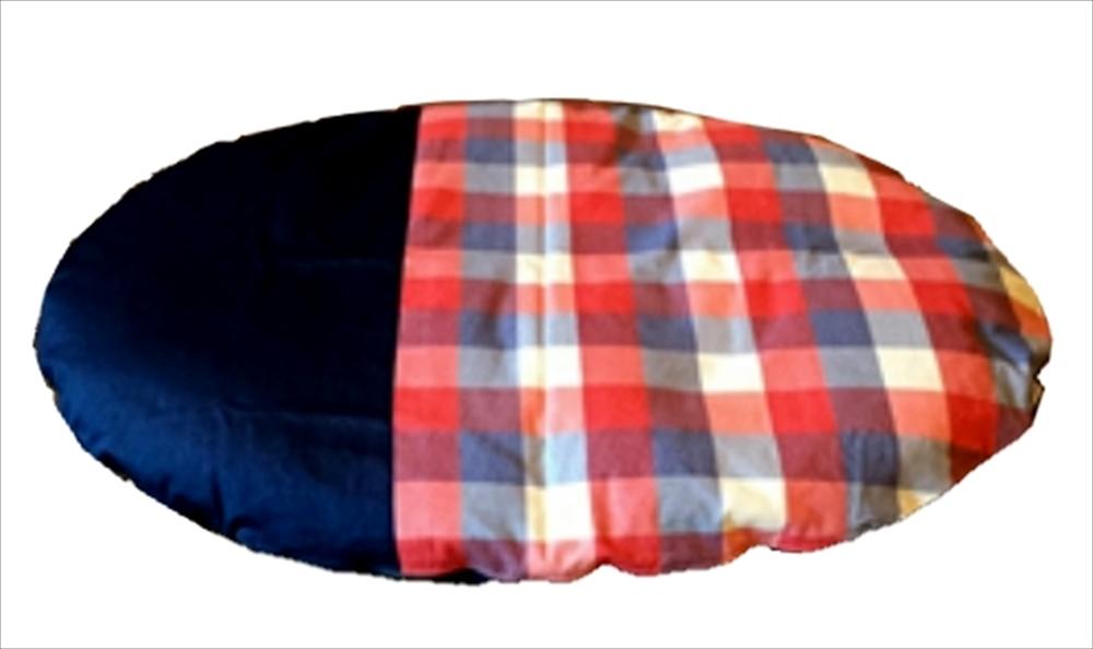 笹屋 日本製 Japan マルチチェック Naps いねむり布団 (小)【代引不可】