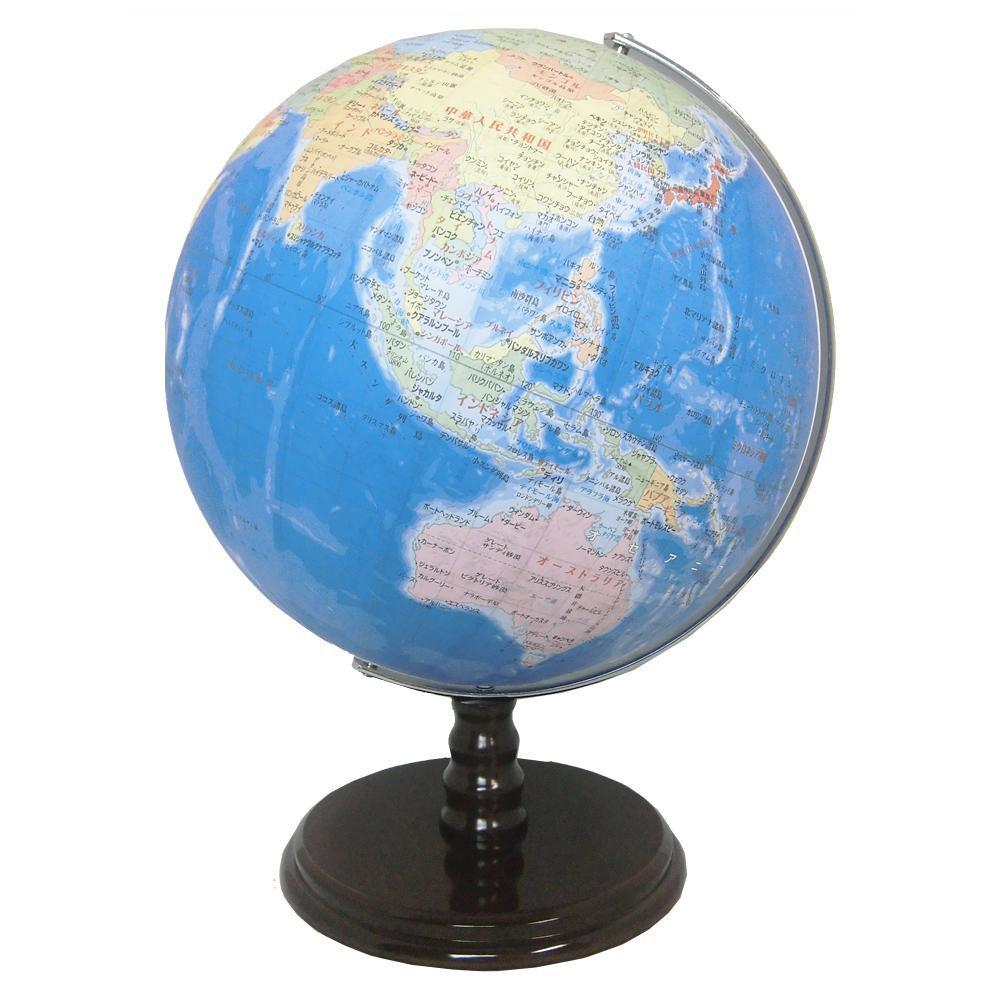 【送料無料】SHOWAGLOBES 地球儀 行政図タイプ 32cm 32-GAY【代引不可】