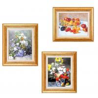 【送料無料】ルノワール名画額F6金 1741940・花瓶の花【代引不可】