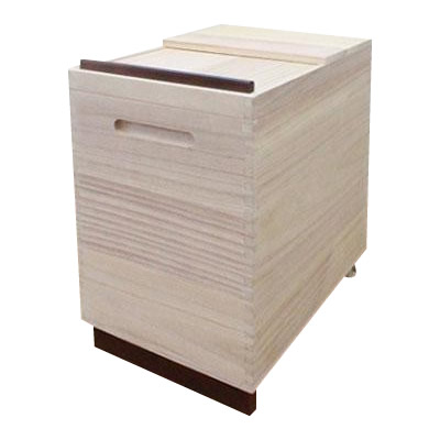 【送料無料】桐製 Rice Box 30kg RPO-30【代引不可】