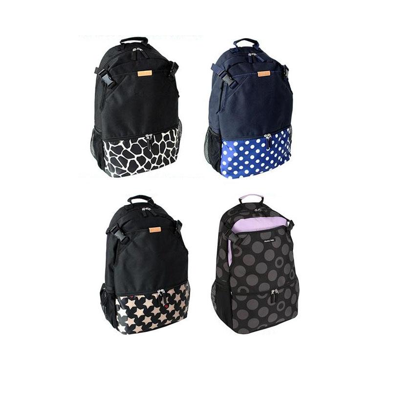 Hanna Hula(ハンナフラ) バックパック 巾着付き TNS-BPK CFL01・クッキーフラワーカフェ【代引不可】