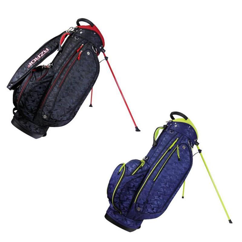 【送料無料】AZROF(アズロフ) メンズゴルフセット クラブ9本+キャディバッグ AZ-MSET01・ブラック【代引不可】