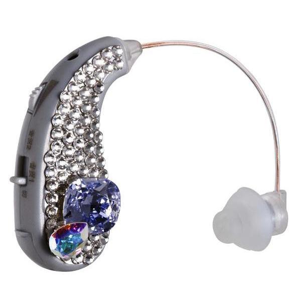 【送料無料】耳かけ型集音器 イヤーフォース パルフェ 右耳用 EF-16MP パープル・VR【代引不可】