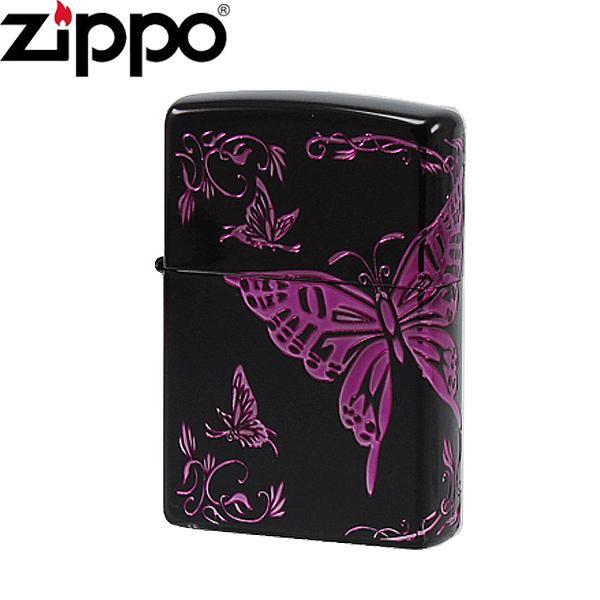 ZIPPO(ジッポー) ライター 和柄 蝶 2BTF-C【代引不可】