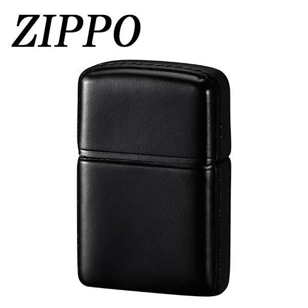 ZIPPO 革巻 松阪牛 ブラック【代引不可】