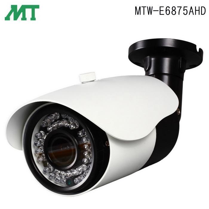 【送料無料】マザーツール フルハイビジョン 電動ズームレンズ搭載 防水型 AHD カメラ MTW-E6875AHD【代引不可】