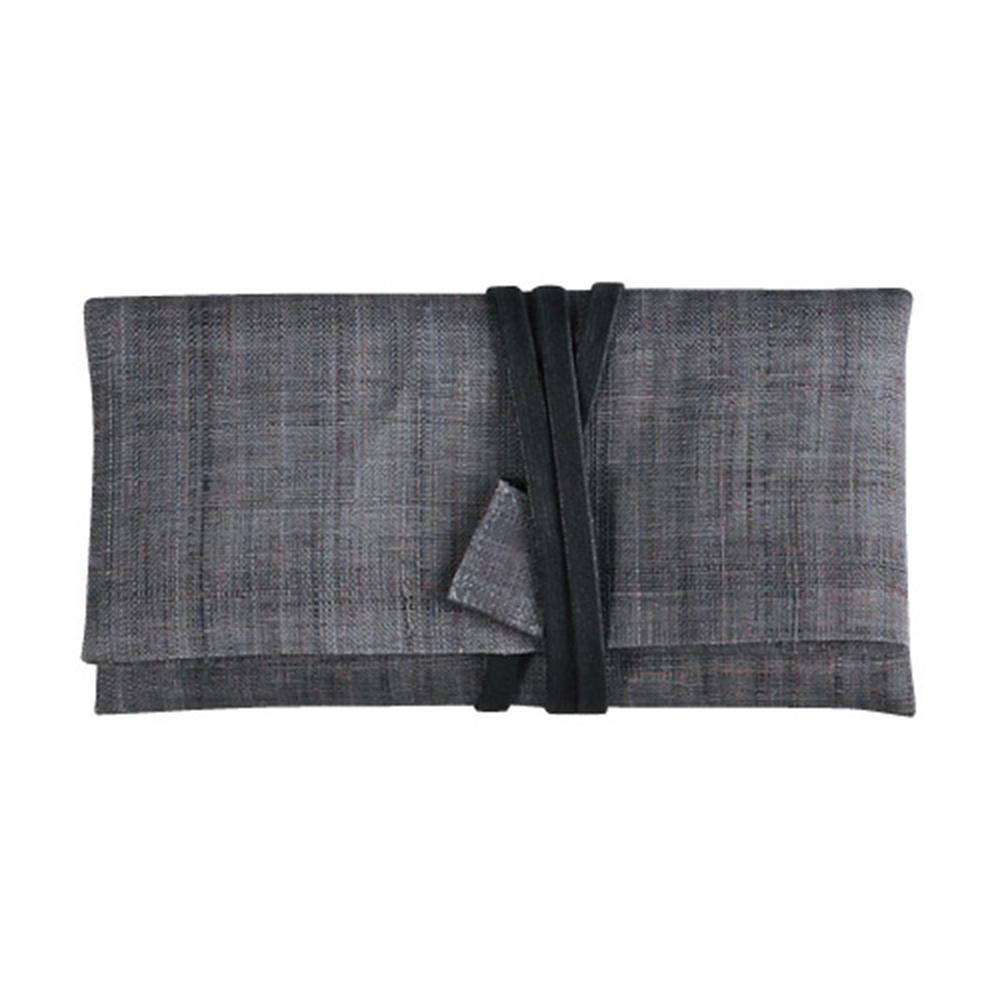 麻 念珠袋 黒 801-5【代引不可】