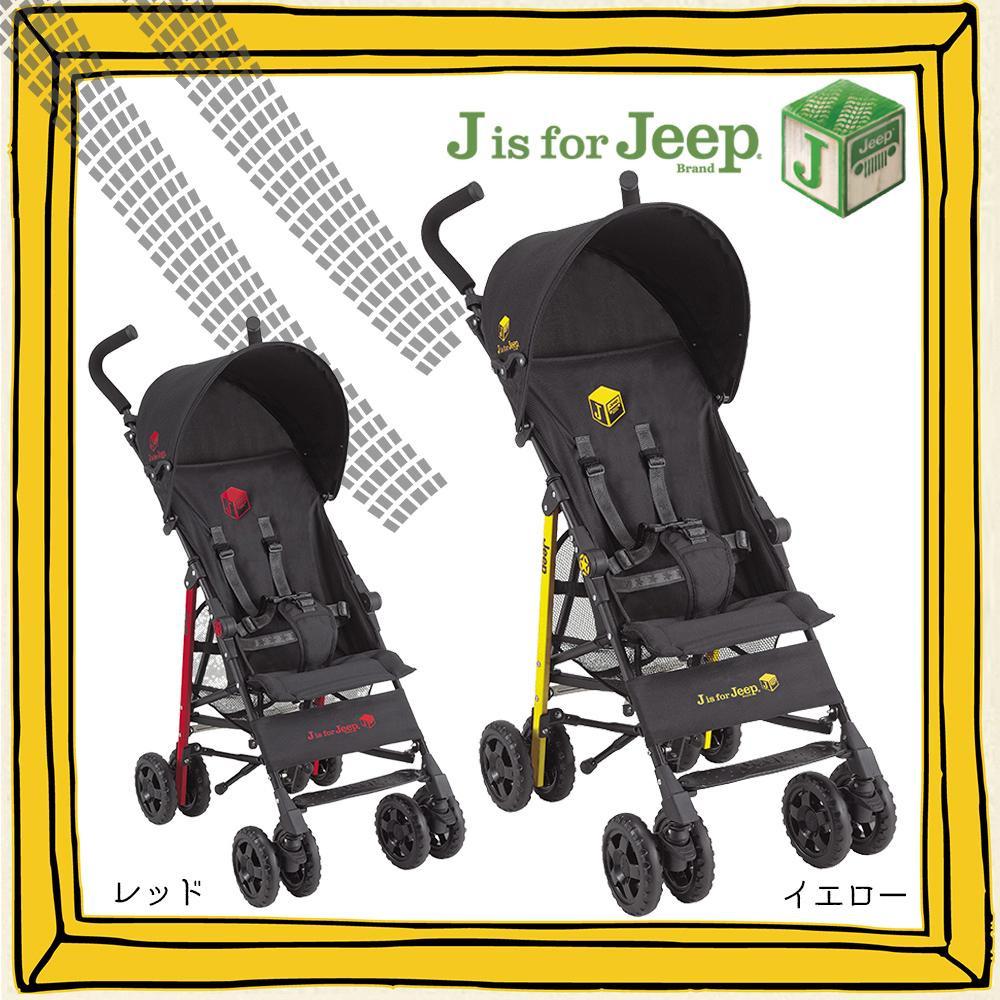 【送料無料】J is for Jeep スポーツ スタンダード B型ベビーカー レッド・10055280【代引不可】