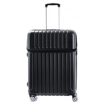 【送料無料】協和 ACTUS(アクタス) スーツケース トップオープン トップス Lサイズ ACT-004 ブラックカーボン・74-20331【代引不可】