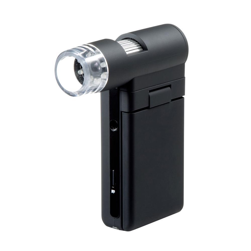 【送料無料】サンワサプライ デジタル顕微鏡 LPE-05BK【代引不可】
