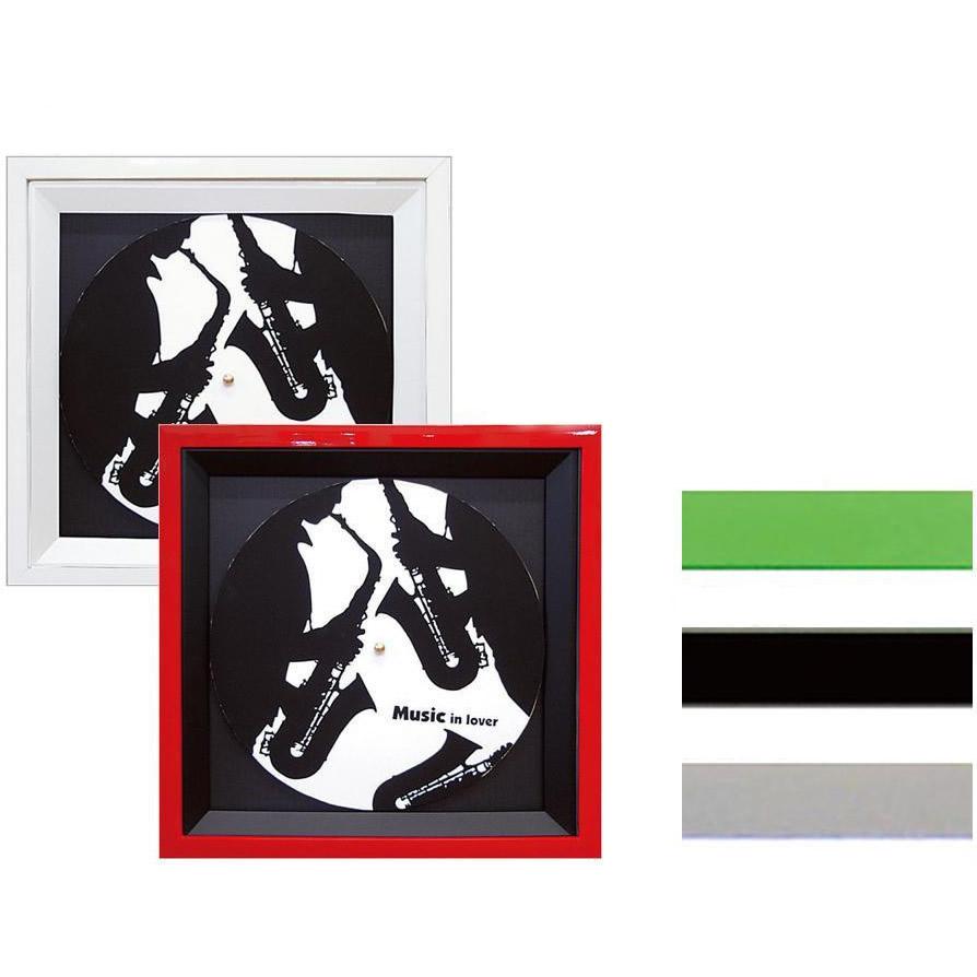 A.P.J. 4WAYレコードフレーム LPジャケットサイズ(365×365mm) レッド・1000004986【代引不可】