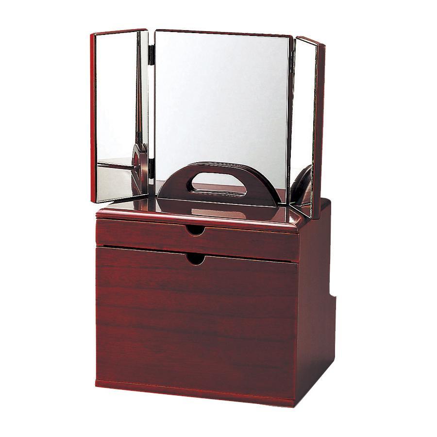 【送料無料】東出漆器 セパレートコスメ(三面鏡) 6779【代引不可】