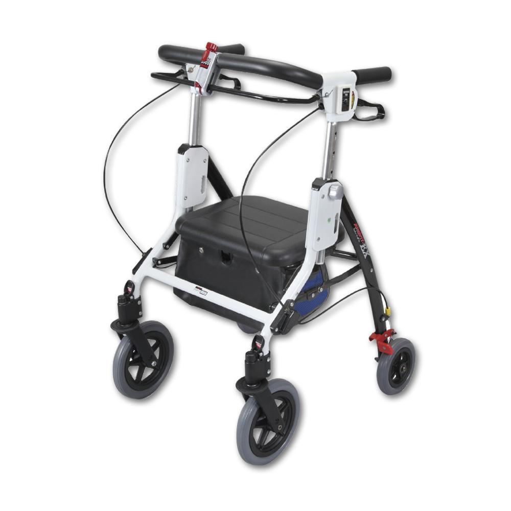 【送料無料】アームフィットEX 室内外兼用歩行車 ブルー AREX-590【代引不可】