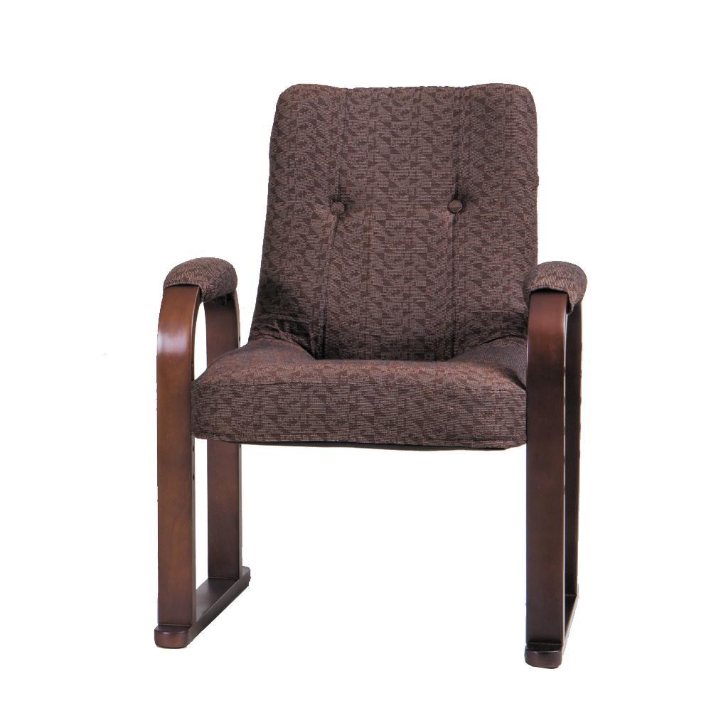 らくらく椅子 ハイタイプ 無地 SW056KHC【代引不可】