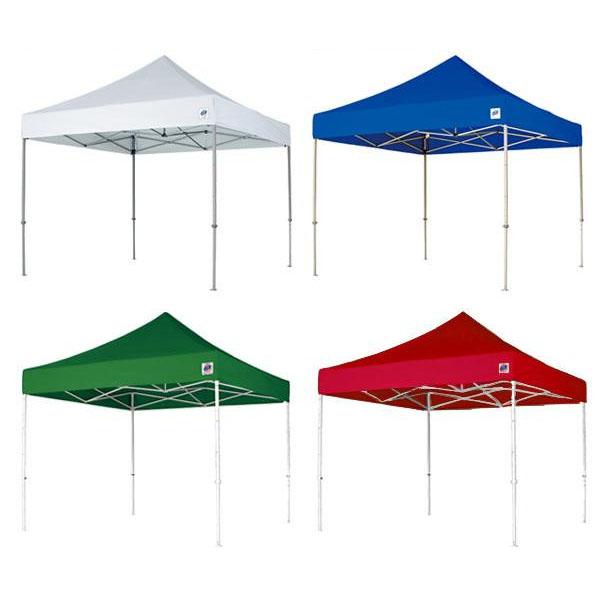 ワンタッチテント イージーアップ・テント デラックス ECLIPSE スチールフレーム 3.0m×3.0m DX30-BL・ブルー【代引不可】