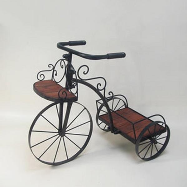 かわ畑 花台 自転車型プランター 1601IFH001 【代引不可】【北海道・沖縄・離島配送不可】