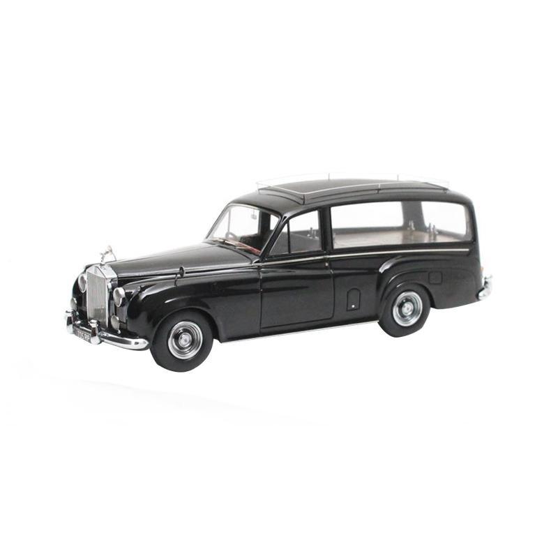 本物を忠実に再現したモデルカー! 【送料無料】MATRIX/マトリックス ロールス・ロイス SC 霊柩車 Simpson & Slater (1957) 1/43スケール MX41705-061 【代引不可】
