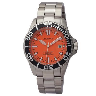 AUREOLE(オレオール) スポーツ メンズ腕時計 SW-416M-A3 【代引不可】【北海道・沖縄・離島配送不可】