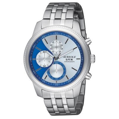 AUREOLE(オレオール) S.P.F.W メンズ腕時計 SW-575M-5 【代引不可】【北海道・沖縄・離島配送不可】