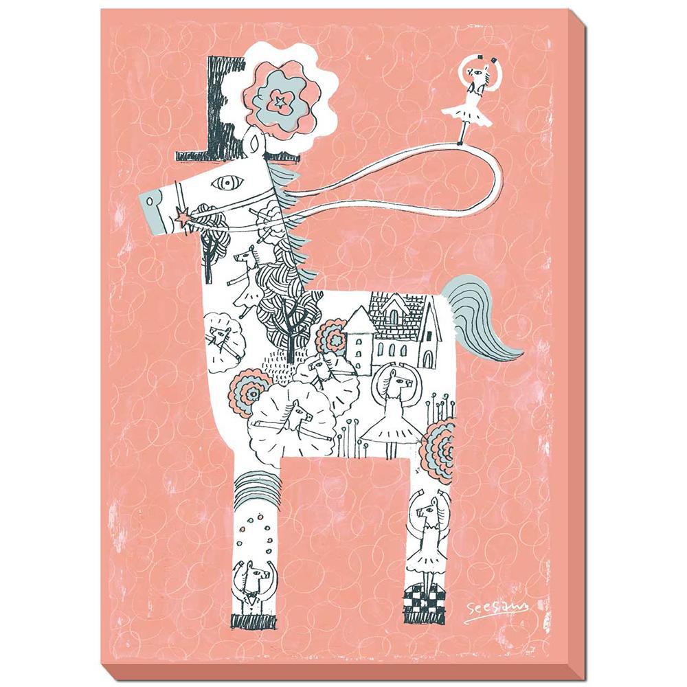 シーソー seesaw アートフレーム ダンス ZSS-51452 【代引不可】【北海道・沖縄・離島配送不可】