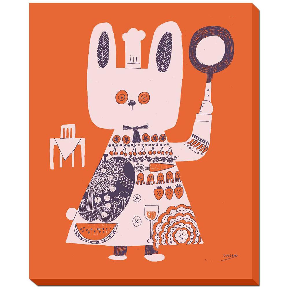 シーソー seesaw アートフレーム 赤のテーブル ZSS-51456 【代引不可】【北海道・沖縄・離島配送不可】