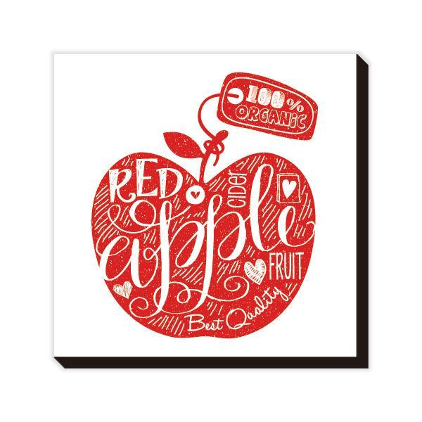 アートパネル Mini Doodle Red Apple IAP-52112 【代引不可】【北海道・沖縄・離島配送不可】