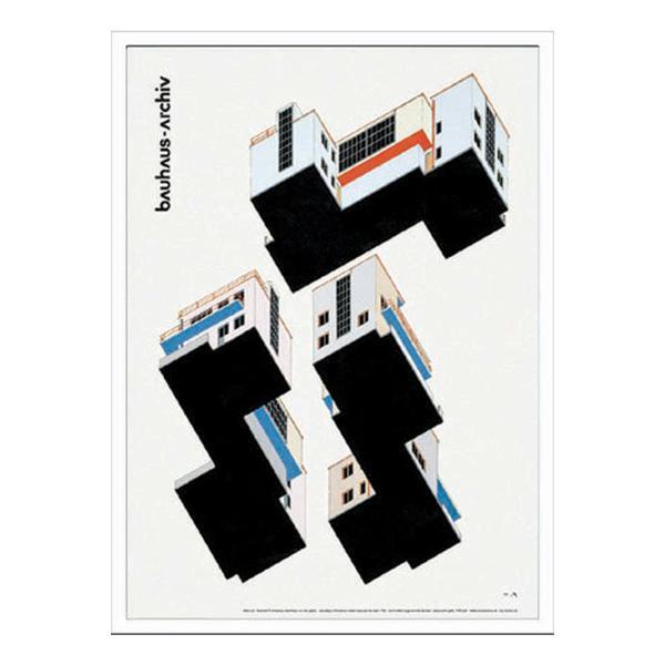 インテリアアート BAUHAUS バウハウス Bauhaus Weimar Ausstellung 1923 IBH-70046 【代引不可】【北海道・沖縄・離島配送不可】